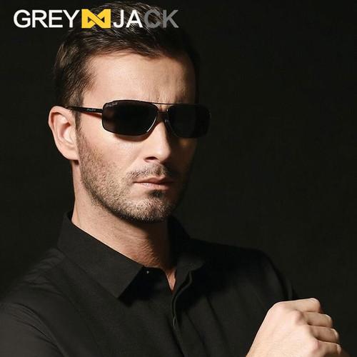 Foto Produk Grey Jack Sunglasses Kacamata hitam Polarized Fashion Pria - full balck dari Grey Jack