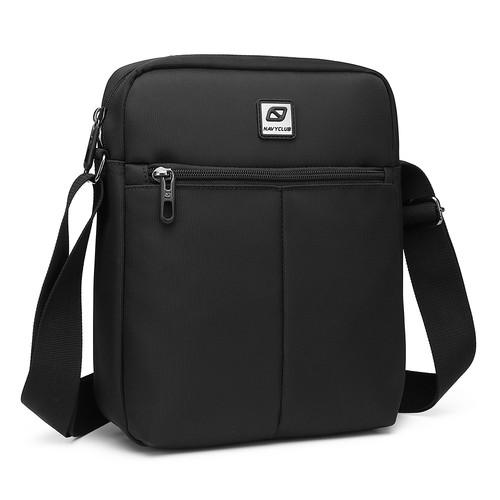 Foto Produk Navy Club Tas Selempang Sling Bag Tablet Ipad Tahan Air 5550 - Hitam dari Navy Club Official Store