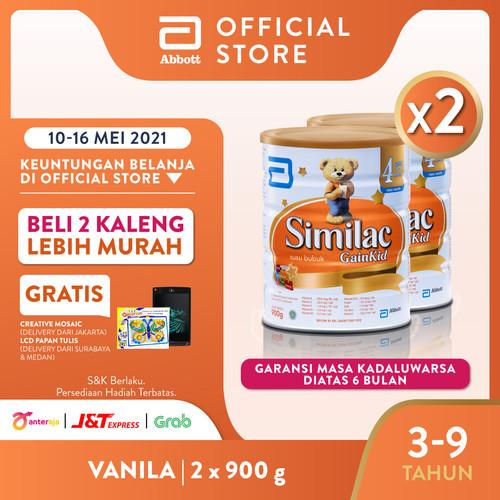 Foto Produk Similac GainKid 900 g (3-9 tahun) Susu Pertumbuhan - 2 klg dari Abbott Official Store