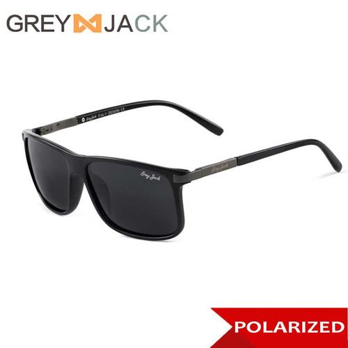 Foto Produk Grey Jack/ Kacamata Hitam Pria /fashion Sunglasses /polarized 1219 - C1blk glossy dari Grey Jack