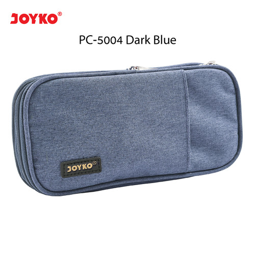 Foto Produk Kotak Tempat Pensil Pencil Case Joyko PC-5004 - Dark Blue dari JOYKO Official