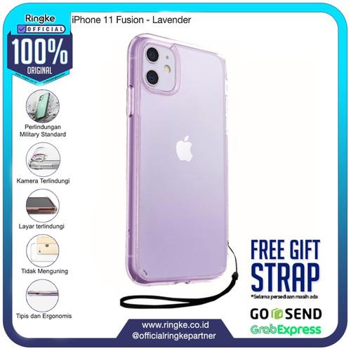Foto Produk Rearth Ringke iPhone 11 Fusion Anti Crack Original - Lavender dari Official Ringke Partner