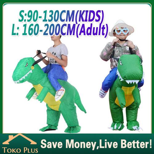 Foto Produk kostum dinosaurus anak dewasa kostum dino pesta unik cosplay - anak dari Toko Plus ID