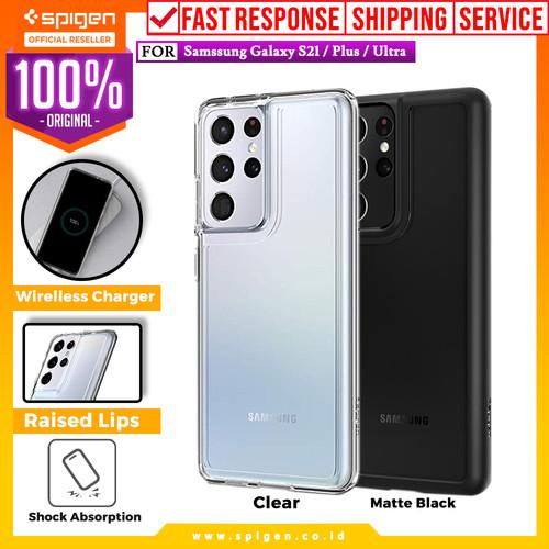 Foto Produk Case Samsung Galaxy S21 Ultra Plus Spigen Ultra Hybrid Clear Casing - S21, Clear dari Spigen Official