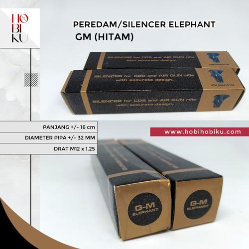 Foto Produk PEREDAM/SILENCER ELEPHANT GM (HITAM) dari HOBIHOBIKU