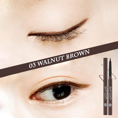 Foto Produk Holika Holika Wonder Drawing Skinny Eyeliner - 03 Walnut Brown dari Holika Holika Indonesia