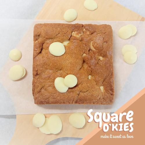 Foto Produk White Chocolate Soft Cookies Square O'kies - Regular dari Square O'kies