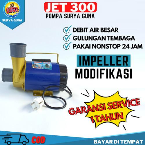 Foto Produk Pompa Air Nyala Terus JET 300 dari SuryaGuna