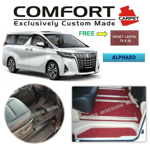 Foto Produk Karpet Mobil Comfort Deluxe Khusus Alphard / Vellfire 2018 dari Boss Aksesoris Mobil