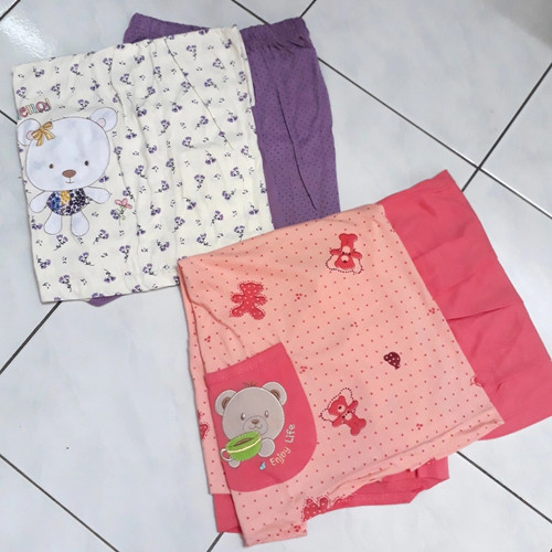 Foto Produk Baby Doll Amro / Piyama / Baju Tidur Wanita Kaos Celana Pendek dari Cute Bear Shop