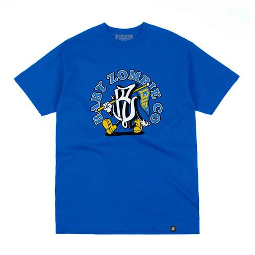 Foto Produk BABY ZOMBIE - Flutter Royal Blue Tshirt - M dari Baby Zombie Co.