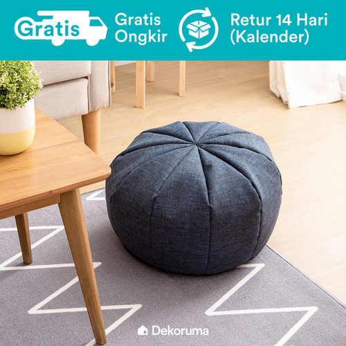 Foto Produk Dekoruma Maru Floor Cushion   Bantal Lantai - Mystic Blue dari Dekoruma Official Store