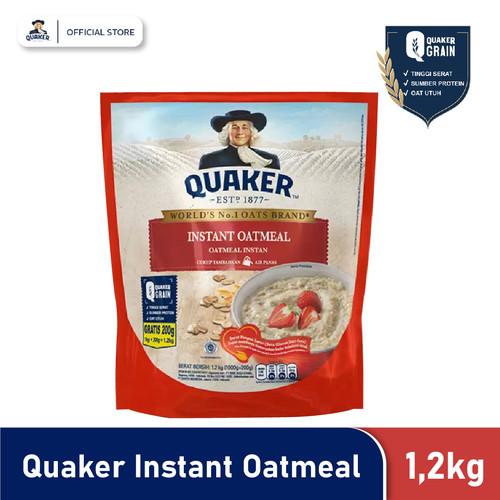 Foto Produk Quaker Instant Oatmeal 1.2 Kg dari Quaker Official Store