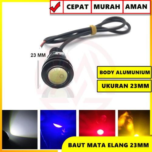 Foto Produk lampu led mata elang eagle eye 12v 23mm - Biru dari Modifikasi Market