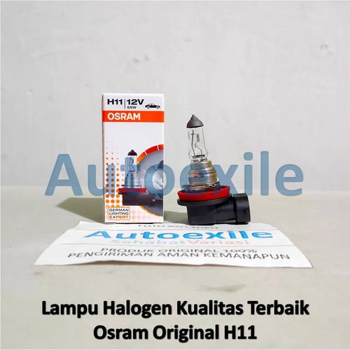 Foto Produk Osram Original Spare Part H11 12V 55W 64211 Made Germany Lampu Mobil dari Autoexile