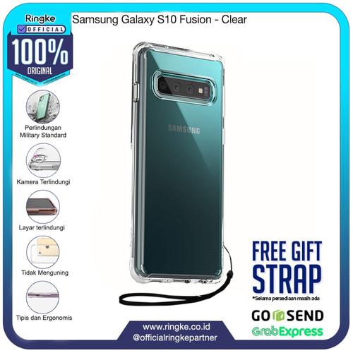 Foto Produk Ringke Samsung Galaxy S10/S10+/S10e Fusion Anti Crack Anti Drop - S10-Clear dari Official Ringke Partner