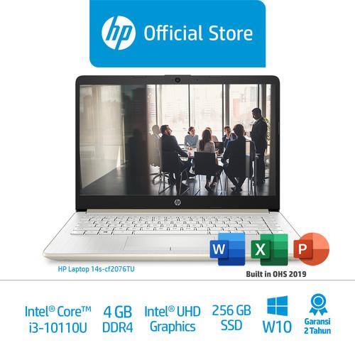 Foto Produk HP 14s-cf2076TU Laptop/Core i3/4GB/IntelUHDGraphics/256GBSSD dari HP Official