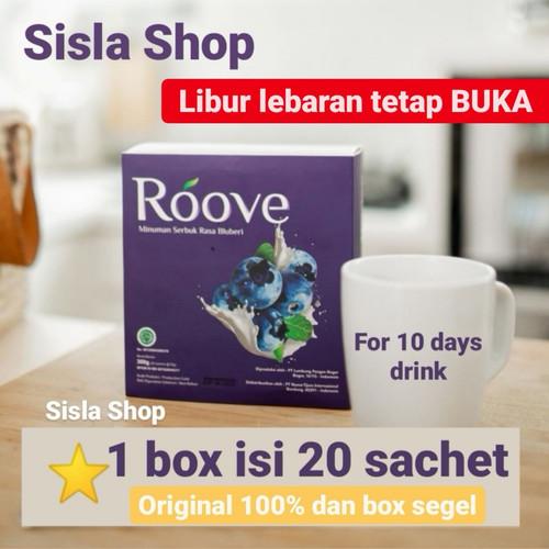 Foto Produk Roove collagen drink 1 box (20 sachet) - 1 box segel dari SisLa.shops