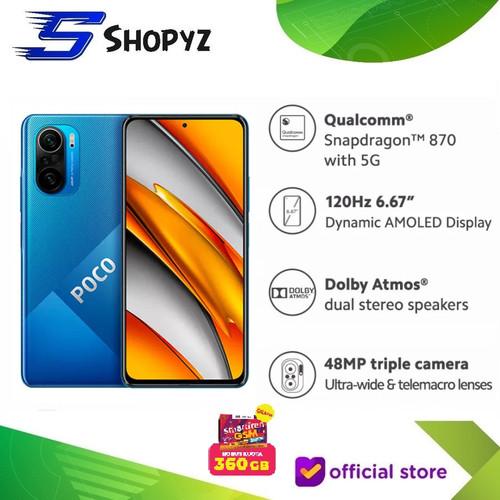 Foto Produk XIAOMI POCOPHONE POCO F3 5G - NFC - 8GB 256GB 8/256 - SNAPDRAGON 870 - Deep Ocean Blue dari Shopyz ID