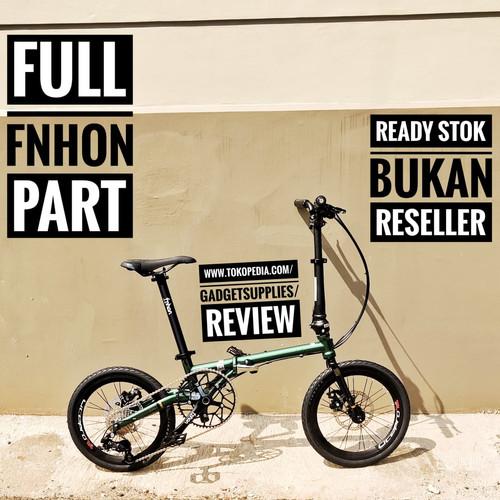 Foto Produk Sepeda Lipat Fnhon Gust Black Gold Spesial Edition Custom - Hijau dari JUALGADGETS