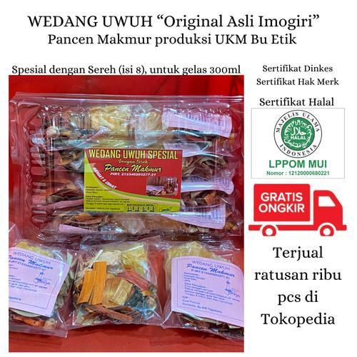 Foto Produk Oleh-oleh Jogja Wedhang / Wedang Uwuh Minuman Tradisional ASLI Imogiri - Jahe kering spe dari UKM Bu Etik