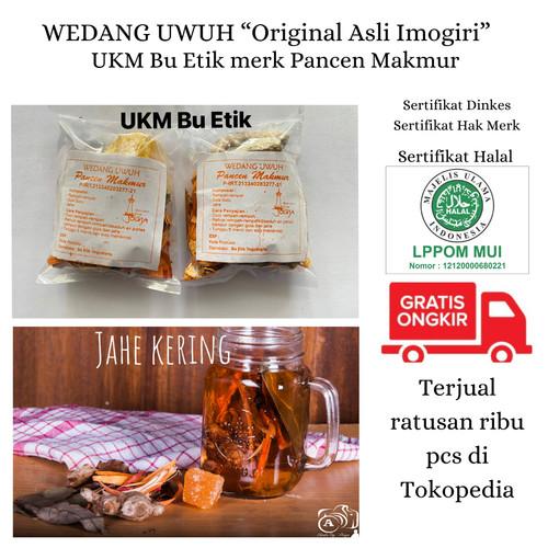 Foto Produk Wedang Uwuh Jahe Kering Ecer - Ekonomis dari UKM Bu Etik