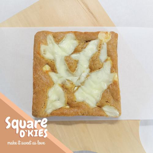 Foto Produk Mozzarella Chocolate Soft Cookies Square O'kies dari Square O'kies