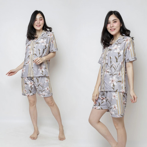 Foto Produk piyama/piyama cewek/baju tidur/baju tidur cewek/piyama motif dari Distro Polosan