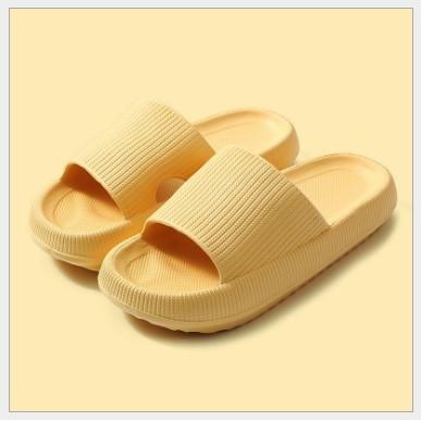 Foto Produk Tanqiu Sandal Rumah Sendal Outdoor Selop Anti Slip Quick Dry Bahan EVA - Kuning, 36-37 dari MSOU SPORT