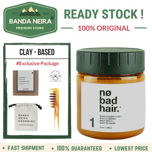 Foto Produk No Bad Hair Creamy Clay Original Lokal Murah Pomade dari Banda Neira Store