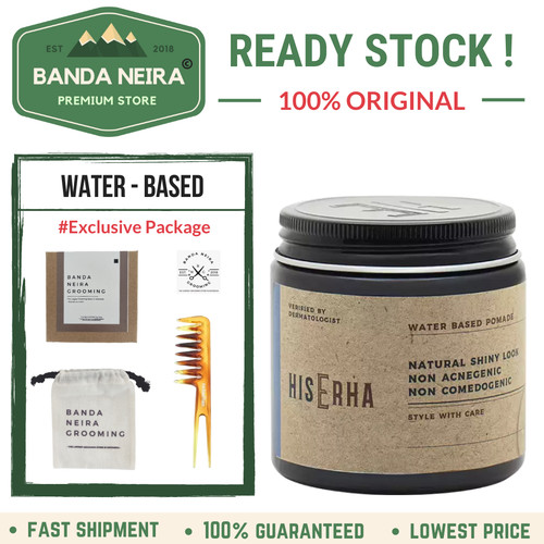Foto Produk HisErha / His Erha Water Based Pomade Original Lokal Murah dari Banda Neira Store
