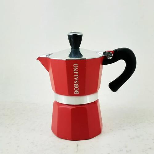 Foto Produk Borsalino Cottura Moka Pot Coffee Maker for 3 Cups dari Kopi Jayakarta