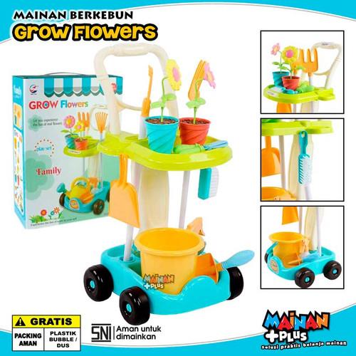Foto Produk MAINAN EDUKASI EDUKATIF ALAT BERKEBUN GROW FLOWERS CART SNI dari MainanPlus