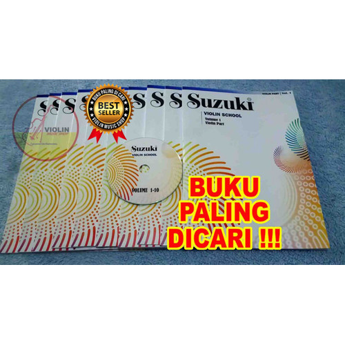 Foto Produk buku biola suzuki violin school volume 1-10 - Volume 1 dari Violin Music Shop