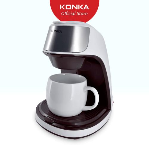 Foto Produk KONKA Coffee Maker Mesin Pembuat Kopi Listrik Otomatis Praktis dari Konka Store