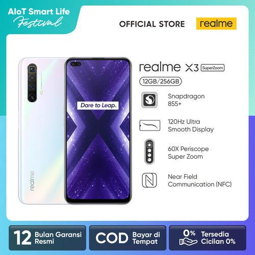 Foto Produk realme X3 SuperZoom 12/256GB 60X Periscope Zoom Snapdragon 855+ NFC - Putih dari realme Official Store