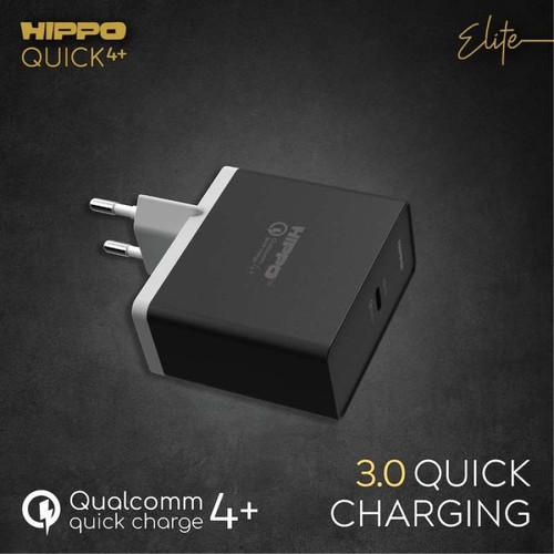 Foto Produk Hippo Elite Quick4+ Adapter Charger 27 W - Hitam dari Hippo Elite