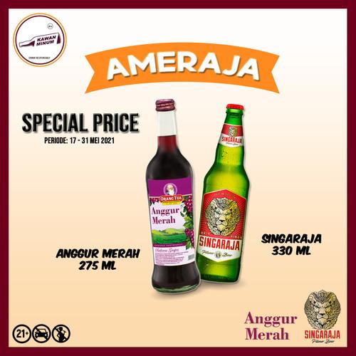 Foto Produk AMERAJA (Anggur Merah 275mL + Singaraja 330mL) dari kawan minum