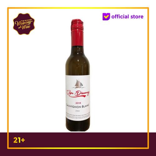 Foto Produk White Wine Cape Discovery Sauvignon Blanc 375ml dari Waroeng Wine GS