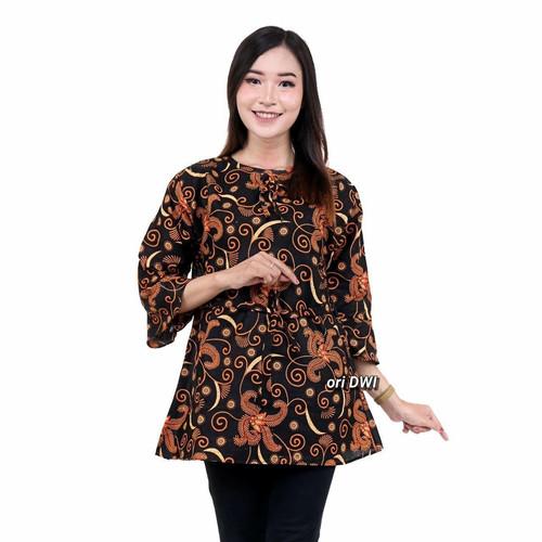 Foto Produk Atasan batik wanita modern M L XL dari Batik Ganial
