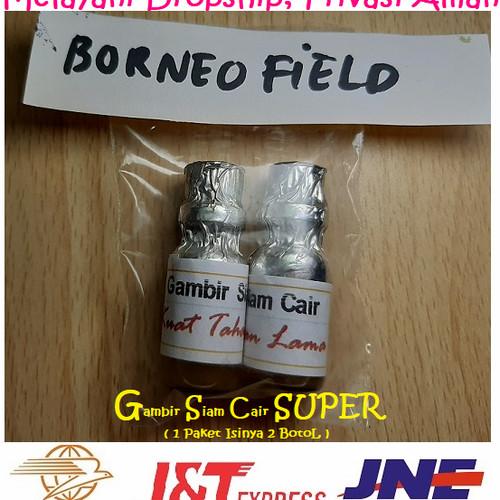Foto Produk Gambir siam Cair 1paket isinya 2botol kualitas super Asli Kalimantan dari borneofield
