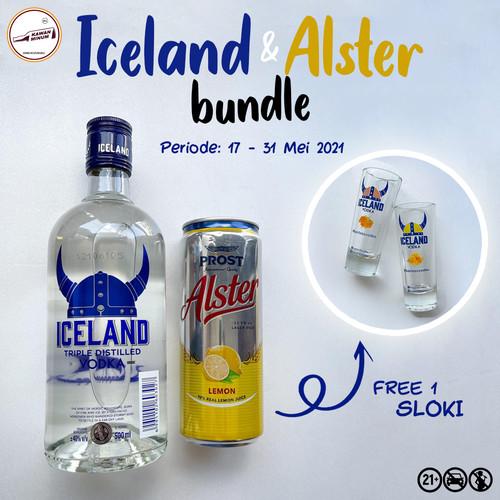 Foto Produk Iceland Alster FREE Sloki dari kawan minum