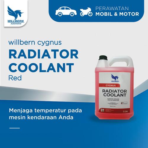 Foto Produk Willbern Coolant Antifreeze - Red Coolant - 5 Liter dari WillbernOfficial