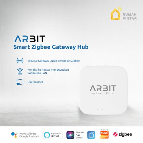 Foto Produk ARBIT - Smart Home Wireless ZigBee Gateway Hub TUYA dari ARBIT Official Store