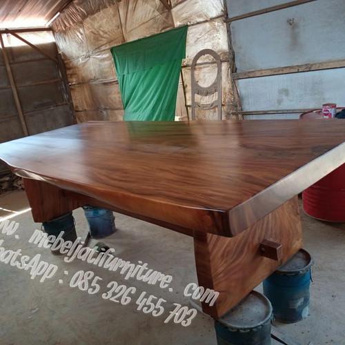 Foto Produk Meja Trembesi Jumbo dari Mebel Jati Furniture Jepara