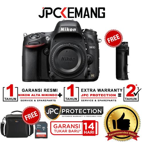 Foto Produk NIKON D610 / Nikon D 610 Body Only GARANSI RESMI dari JPCKemang