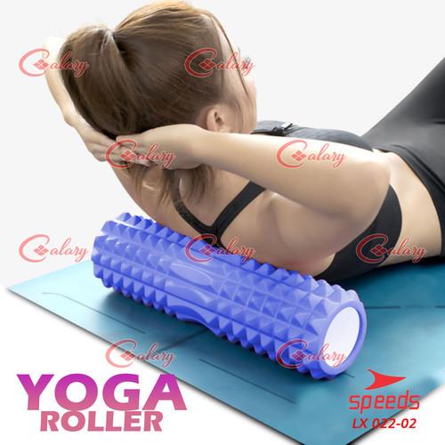 Foto Produk Yoga Roler Foam Roller Gym Fitness FLEXFIT 022-02 - Ungu dari calary
