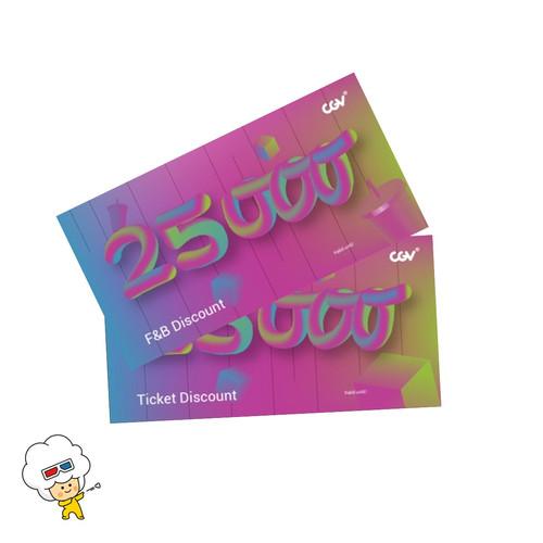 Foto Produk CGV e-coupon Discount (2 pcs) dari CGV CINEMAS