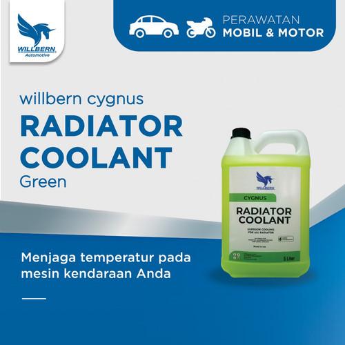 Foto Produk Willbern Cygnus Coolant Antifreeze - Green Coolant - 5 Liter dari WillbernOfficial