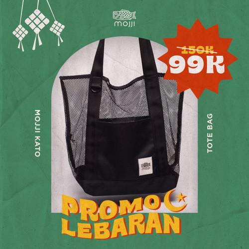 Foto Produk Tote Bag Pria dan Wanita Mojji KATO Jaring Mesh dari Mojji